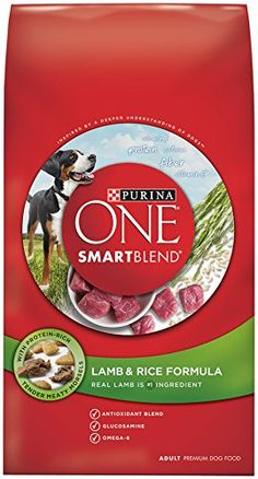 Purina ONE SmartBlend Dry Dog Food Lamb  Rice Formula 311Pound Bag Pack of 1 >>> More info could be found at the image url. (Note:Amazon affiliate link)