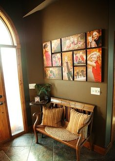 Decorating with Wall Portraits part 2 by @Heather Rivlin