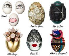 Designer Easter Eggs