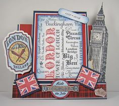 Angela Barkhouse - London themed Step card