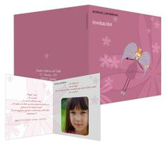Hada - #invitación de #cumpleaños para niños