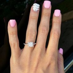 This engagement ring set was designed by Camellia Jewelry. This diamond engagement Ring is set with a ct. To achieve this stunning look, Weve created a matching diamond wedding band set in
