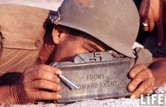 Claymore mine, used in Vietnam.