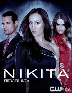 Nikita. Sigh. Shane West is SUPER HOT in this. He's basically the entire reason I watch.