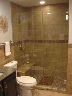 modern bathroom design ideas with walk in shower | small bathroom