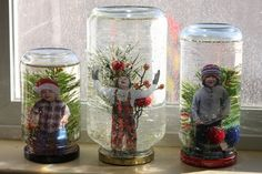 Decorate your home for the holidays by making your own personalized snow globes!  http://chemistry.about.com/cs/howtos/ht/snowglobe.htm