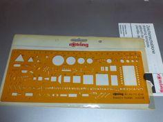rotring-Zeichenschablone-fuer-Elektro-Combi-N-852-772-UNBENUTZT