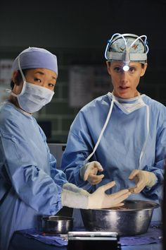 Grey's Anatomy- Teddy and Cristina