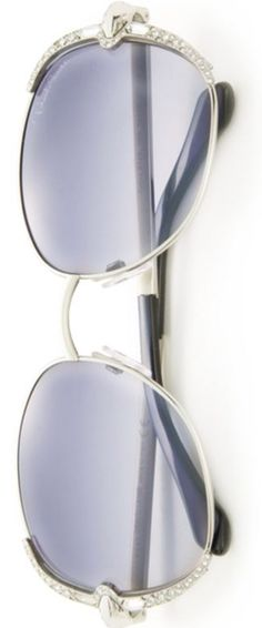 09110b2cd91ee Roberto Cavalli 56MM Swarovski-Embellished Metal Sunglasses Womens Glasses  Frames