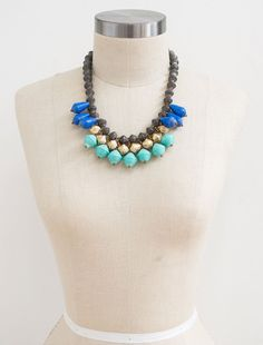 31 Bits Aria Blue/Turquoise Necklace