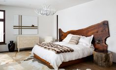 JH Modern by Pearson Design Group (20) headboard, lights, side tables