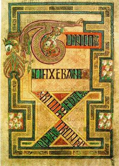 The Book of Kells - #31daysofmedievalmanuscripts #write31days