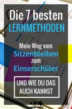 Lernmethoden: Was WIRKLICH sofort funktioniert – So wurde ich vom Sitzenbleiber … Learning Methods: What REALLY Works Immediately – That's how I became a student from sitting down! – 7 simple, free hacks – Learn to Learn Mind Hack, Learning Methods, Mind Tricks, School Hacks, Study Tips, Better Life, Classroom Management, Kids And Parenting, Good To Know
