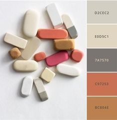 Coming up with brand colors can be tough- so I'm here to help you out. Here are 12 modern, sophisticated brand color palettes that you can use to create your brand identity, website, print materials & package designs! Hex numbers are included so you can Modern Color Palette, Colour Pallette, Modern Colors, Colour Schemes, Color Combos, Adobe Color Palette, Modern Color Schemes, Neutral Palette, Paint Schemes