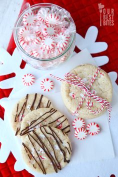 Our Best Bites Peppermint Sugar Cookies
