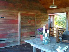 Barnwood Wall and Table