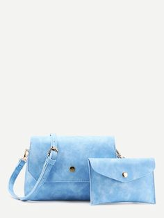 Shop Metal Detail Shoulder Bag With Clutch online. SheIn offers Metal Detail Shoulder Bag With Clutch & more to fit your fashionable needs.