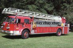 Fire Apparatus Slide - Gainesville FL - 1965 American LaFrance Truck 5