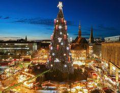 Groote kerstmarkt Dortmund 2015, Dortmund, Duitsland