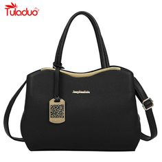 b27469af91fb Handbags High Quality Pu Leather Handbag Women Bag 2017 New Fashion Tote  Bag Designer Handbags Ladies Hand Bags Black Women Shoulder Bags     Find  out more ...