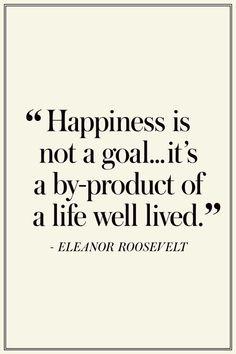 happiness quote on Maison de Cinq