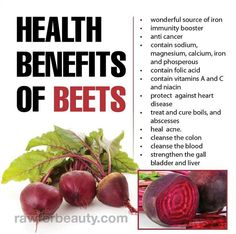 Beets are beautiful to look at and delicious to eat and judging from all those health benefits, very good for you. Description from blog.walkercincinnati.com. I searched for this on bing.com/images