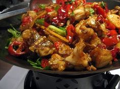 Thai style szechuan chicken « Sarwat's Family Kitchen