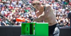 2012 CrossFit Games 7th place finisher and new Rigor Gear Athlete Marcus Hendren