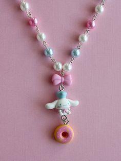 Cinnamoroll Pearl Necklace from Kawaii Jewelry