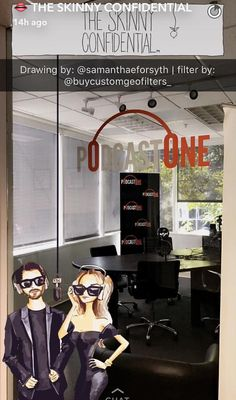 """Thank you again to #TheSkinnyConfidential!  It's always a pleasure working with you, Lauryn!  (If you haven't already, do yourself a favor and add them on Snapchat: """"LaurynEvarts"""" & """"MichaelBossTick"""") #BuyCustomGeofilters"""
