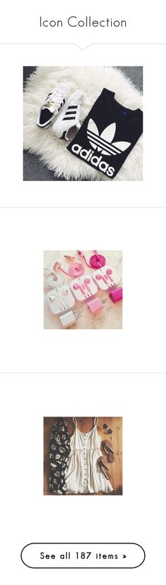 """""""Icon Collection"""" by yummyismyname ❤ liked on Polyvore featuring accessories, tech accessories, adidas, exo, baekhyun, kpop, pictures, aesthetic, icons and pics"""