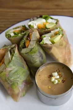 pack a picnic: summer rolls | reading my tea leaves.