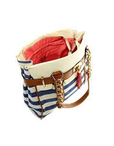Aldo Macedon Striped Shoulder Bag
