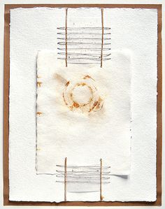 paper home nº 5 --- Original mixed media / collage. Also a unique and beautiful art gift idea for Christmas!