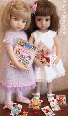 dolls dressed by Cindy Rice