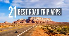 No need for stacks of CDs, guidebooks, and paper maps thanks to today's technology. Here are a few of my favorite road trip apps that are worth downloading.