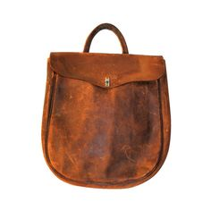 This is an extremely collectible and rare family mail bag dated to the early nineteenth century. Its stamped in fading letters, Patton, Mail. We have