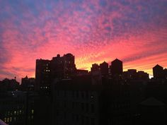 Tonight's sunset, captured by Blackberry Vision.