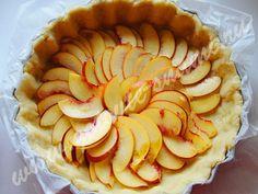 Цветаевский пирог с яблоками и нектаринами | Готовьте с нами