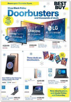 The Black Friday 2018 Deals at Best Buy are some of the best you will see all year! Shop our Black Friday ad for incredible sale prices on consumer electronics. Amazon Black Friday, Black Friday 2019, Best Black Friday, Black Friday Shopping, Top Tech Gifts, Buy Shop, Hacks, Online Shopping Stores, Shopping Deals