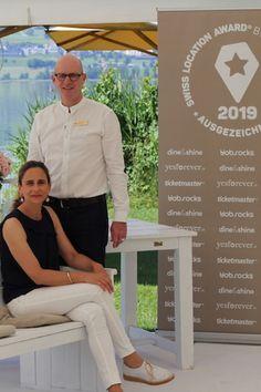 Die Sieger: In der Kategorie «Hochzeitslocations» vom Swiss Location Award 2019 hat das Seehotel Sonne in Eich den 1. Platz erreicht, sowie den Publikumspreis gewonnen. Awards, Sun, Nice Asses
