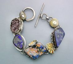 Boulder Opal with Amethyst