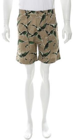 Valentino Bird Print Shorts w/ Tags