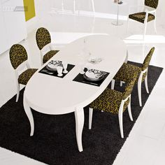 Dining Tables Calligaris Regency Oval Dining Table