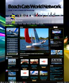 BCWN - Sailing for the entire Planet Catamaran, Planets, Maine, Sailing, Photo And Video, World, Cats, Beach, Candle
