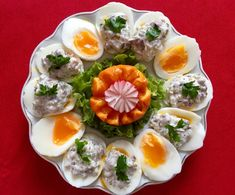 Tatar Sauce, Wedding Appetizers, Cakes And More, Diy Food, Finger Foods, Sushi, Grilling, Food And Drink, Eggs