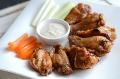 Chicken wings, Baked chicken wings and Wings on Pinterest