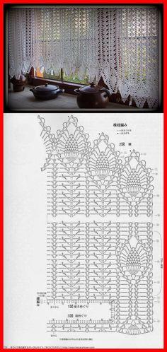 Resultado de imagen para cenefas a crochet con cisnes