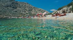 Baška beach - island of Krk, Croatia  #JetsetterCurator