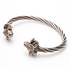 Silver cuff available at GALLERIA J in San Gimignano, Italy